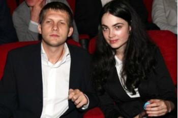 Борис Корчевников вместе с женой Сесиль Свердловой