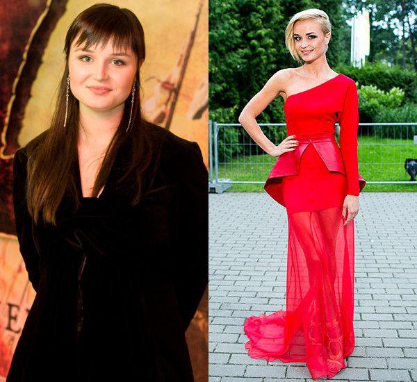 гагарина до и после похудения