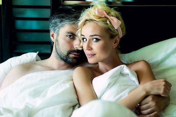 с мужем в постели