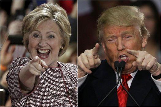 предвыборная с клинтон