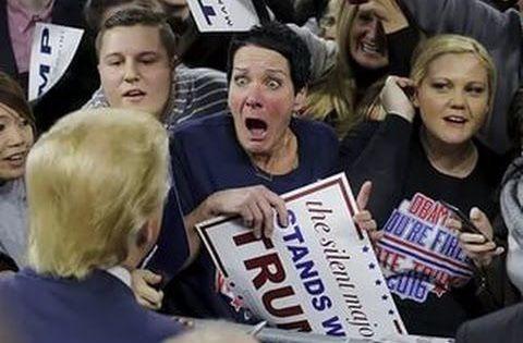 трамп с женщиной