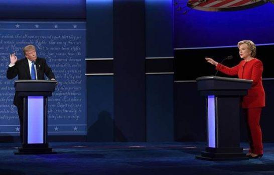 дебаты с клинтон