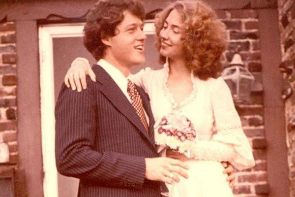 свадьба клинтонов