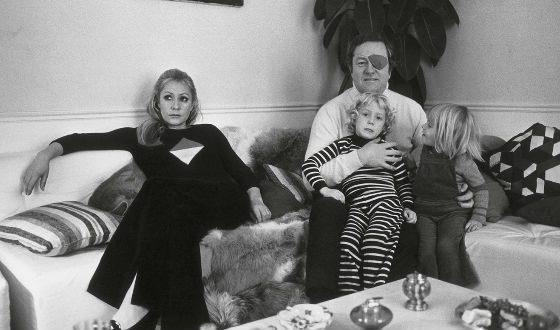 с отцом и матерью