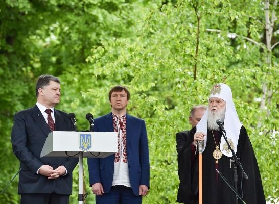 порошенко с священниками
