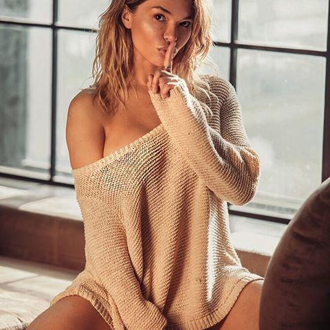 в вязанке