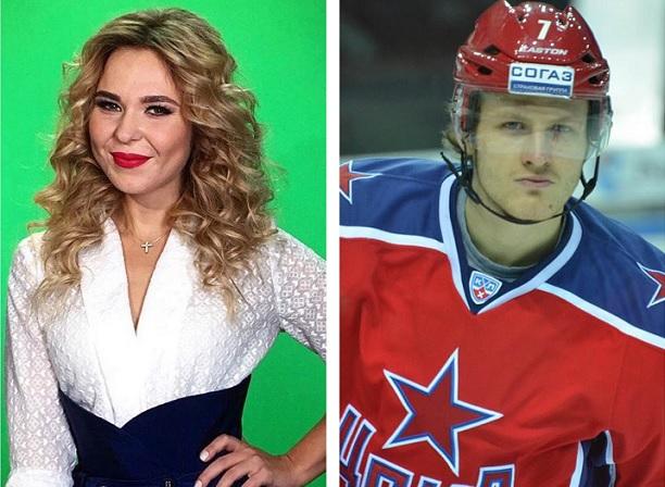 хоккеист и певица