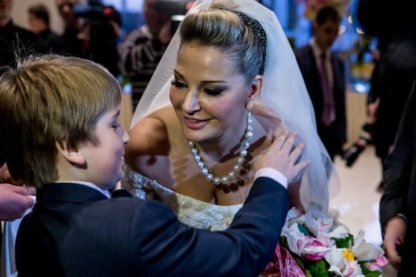 внук на свадьбе дочери
