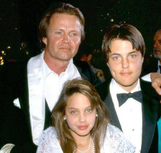 с сыном и дочкой