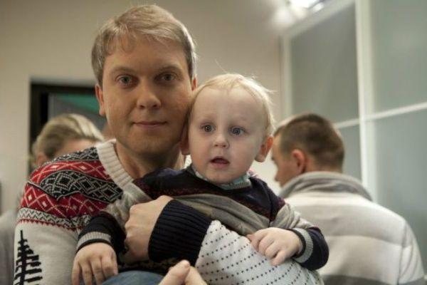 светлаков с сыном