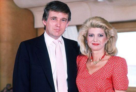 с мужем трампом